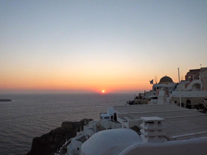 Pôr do Sol em Santorini
