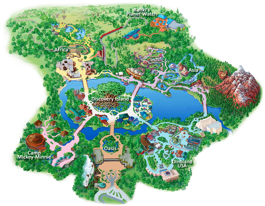 DisneysAnimalKingdomMap2
