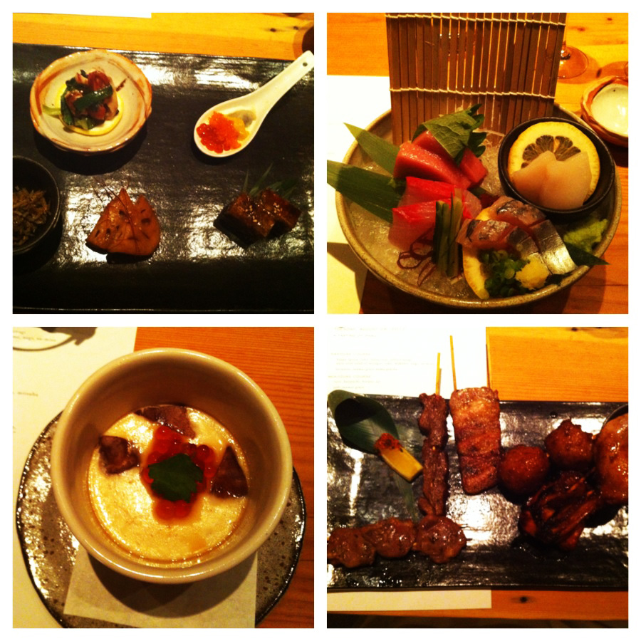 Alguns dos pratos