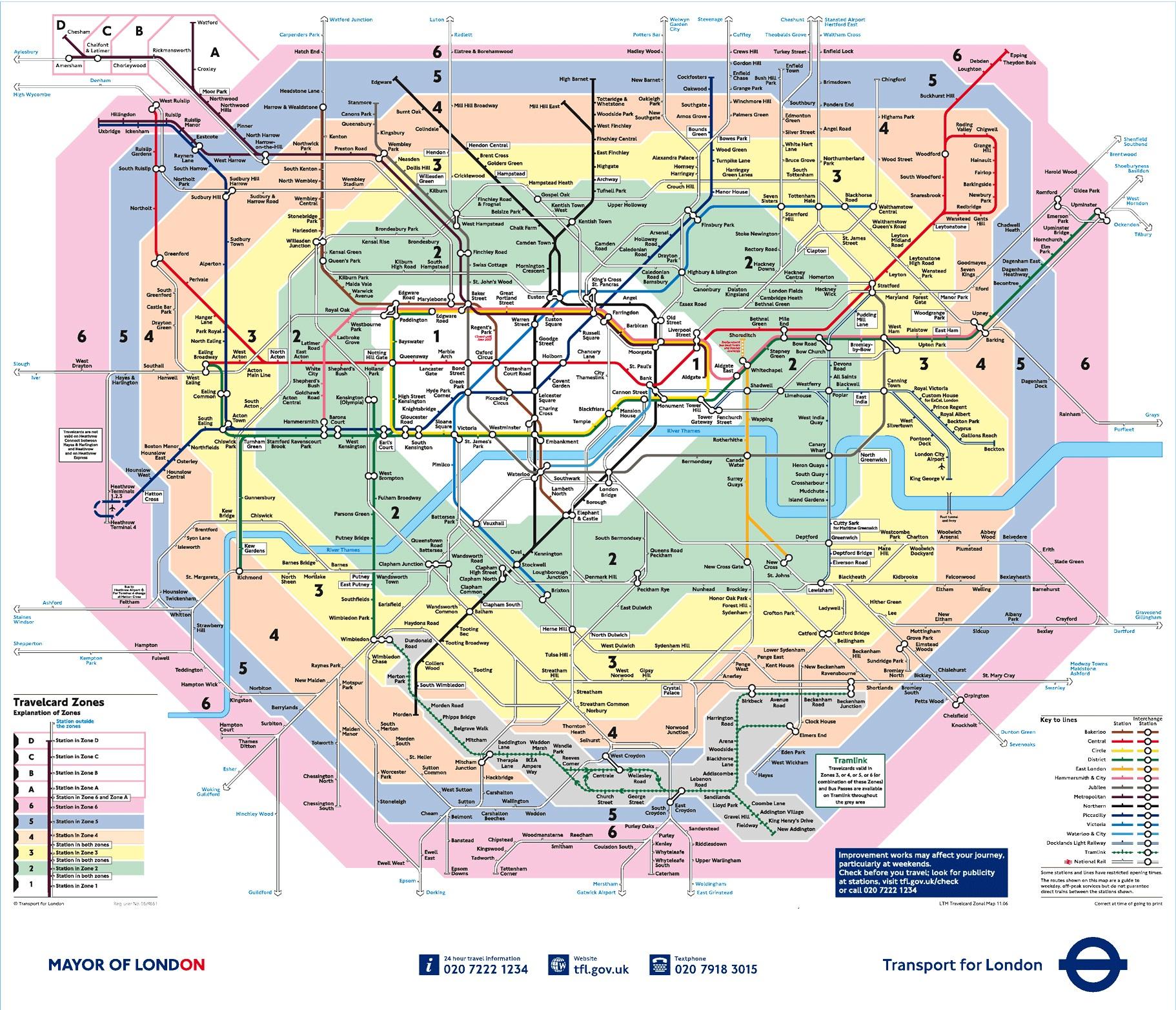 Zonas Londres
