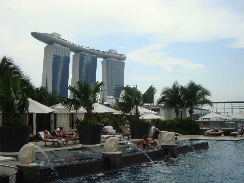 Piscina do hotel Madarin Oriental