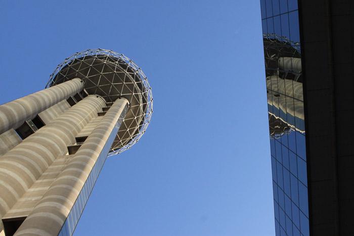 Reunion Tower em Dallas