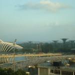 Singapura com a Marina