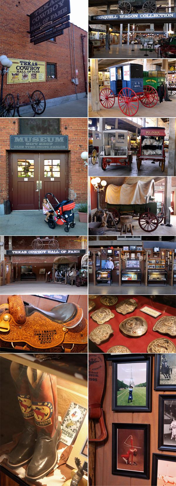 O Texas Cowboy Hall of Fame tem também uma coleção de carroças bem  interessante 71efcf4e9ac