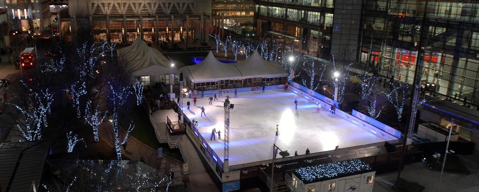 Onde patinar no gelo em Londres