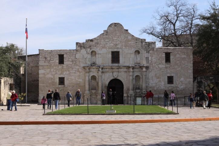 O Álamo, atração turística número 1 do Texas