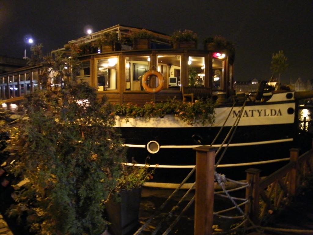 Praga - Boat Hotel Matylda