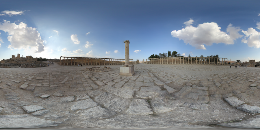 Panorama Forum Jerash