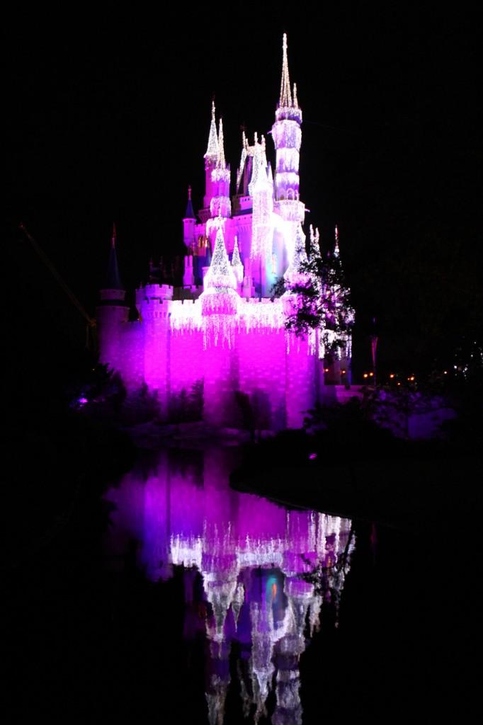 Castelo com Reflexo no lago