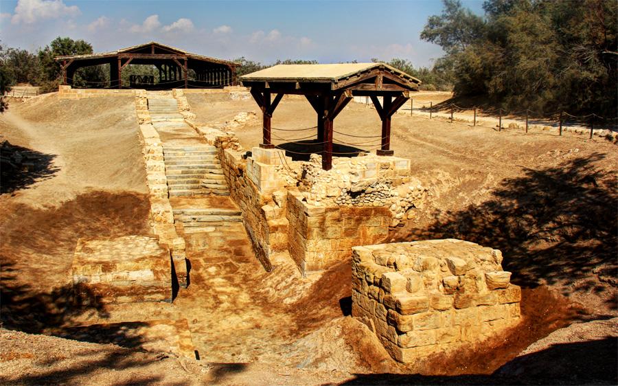 O local onde Jesus foi Batizado