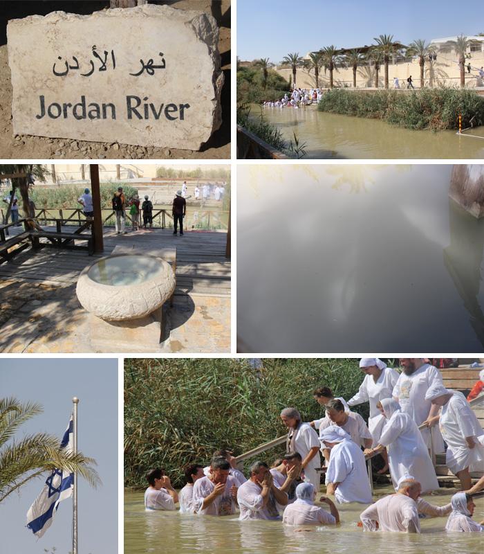 Novo lugar de Batismo no Rio Jordão