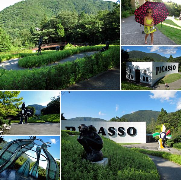 esculturas no Hakone Open Air Museum