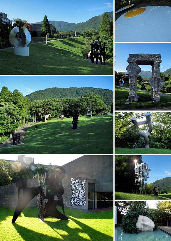 Jardim de esculturas do Hakone Open Air Museum