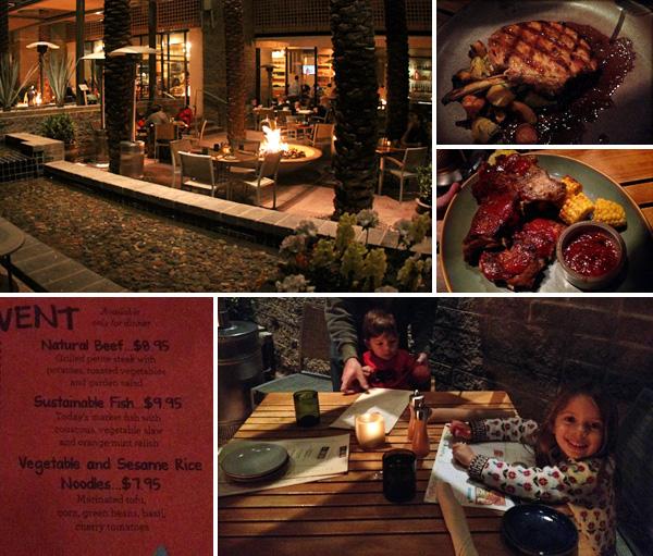 jantando no swb no hyatt scottsdale