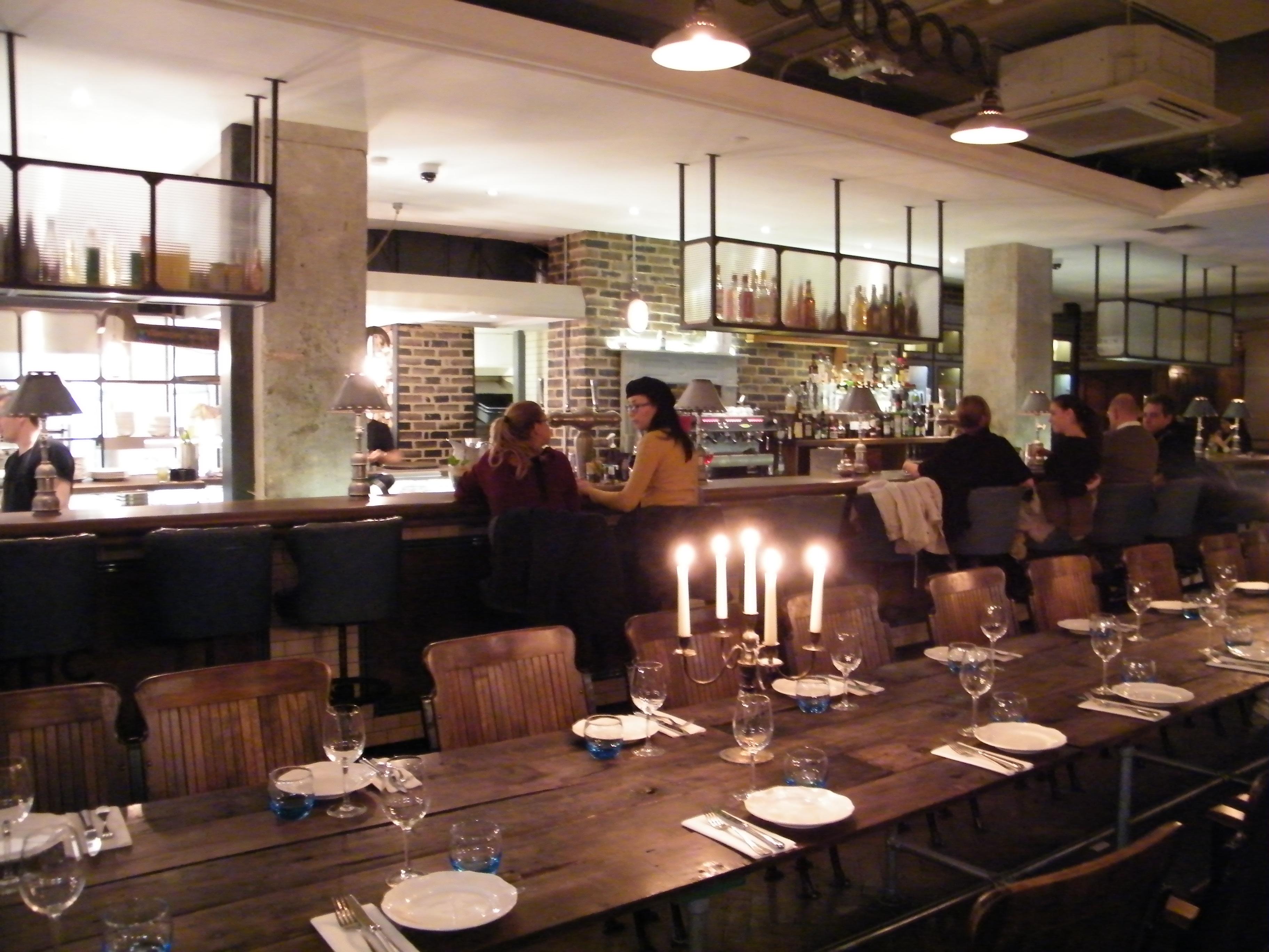 Londres Restaurante Riding House Cafe