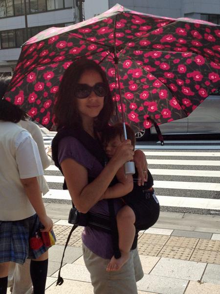 Eu e Eric em Tóquio