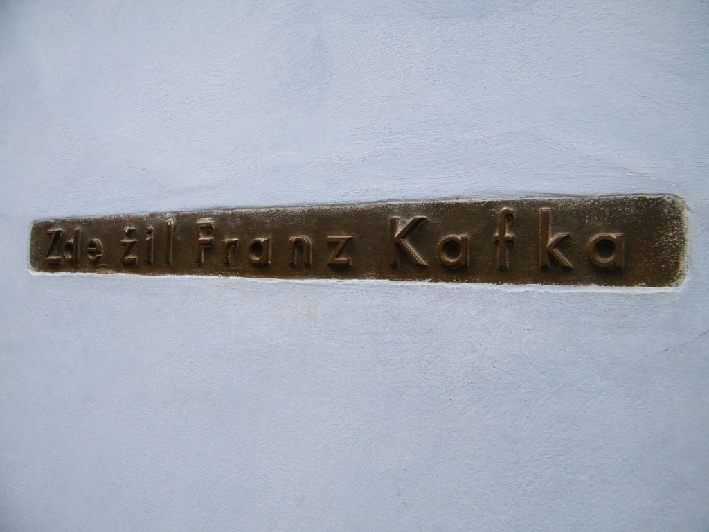 franz kafka house golden lane