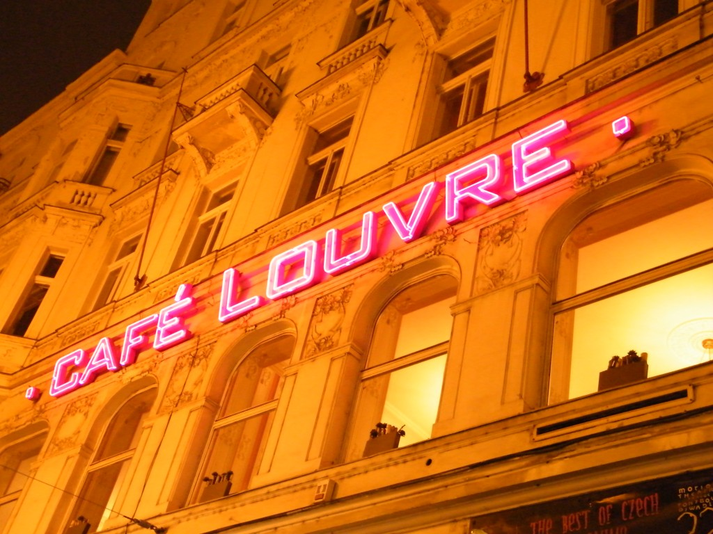 café louvre Praga