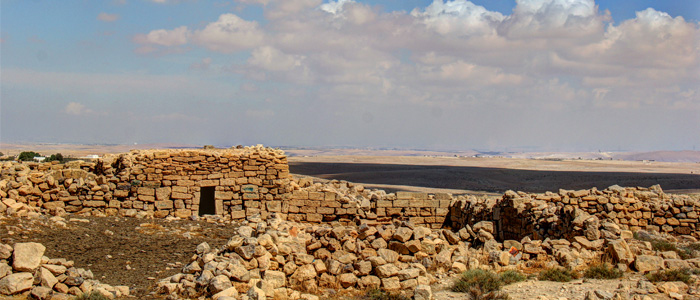 Vista em Umm Ar-Rasas