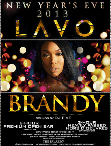 Brandy NYE LAVO