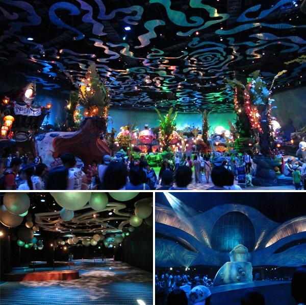 Castelo e show da Ariel