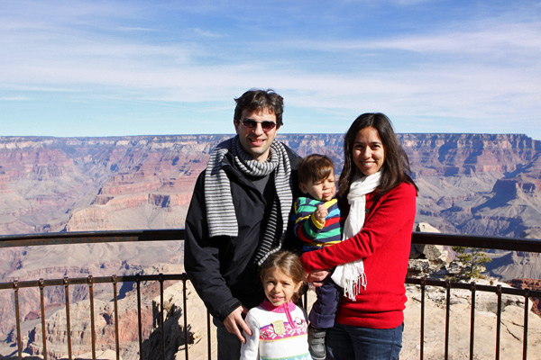 familia misura no grand canyon