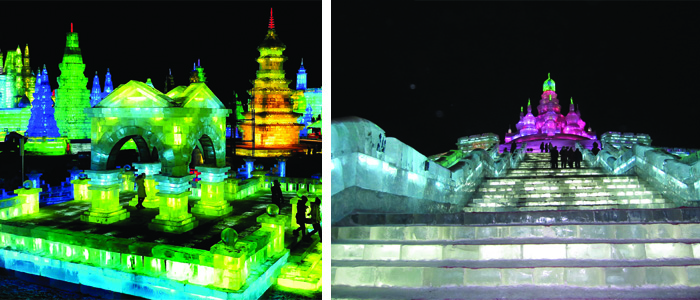 ICE and Snow Festival em Harbin na China