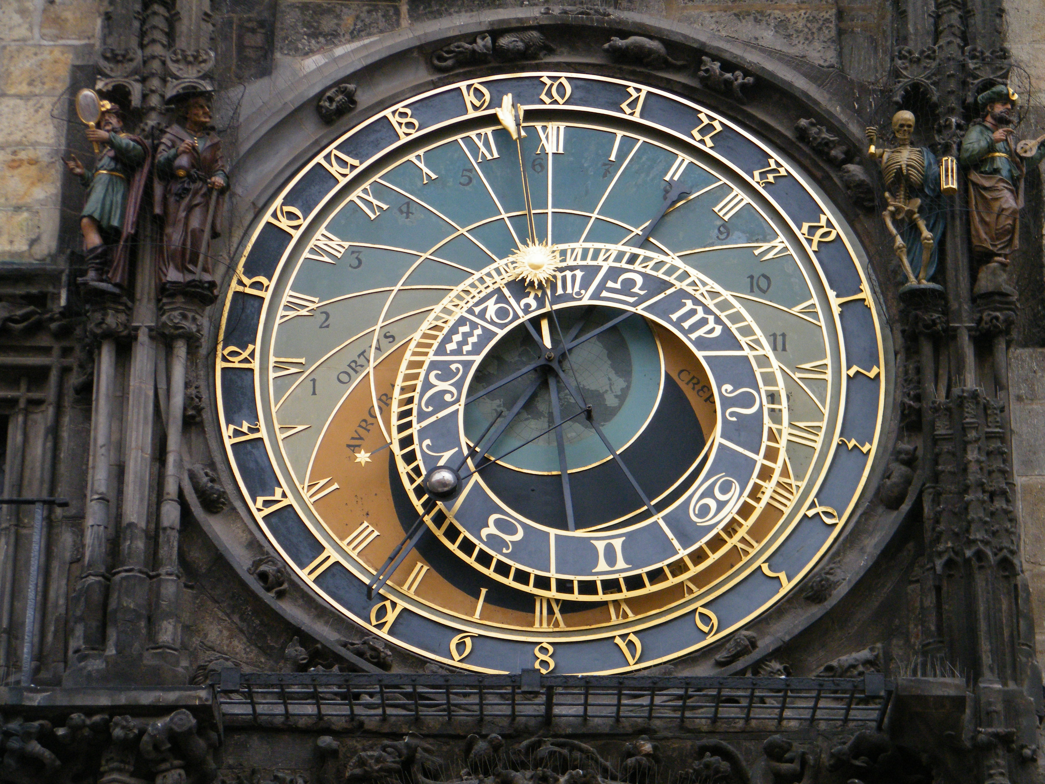 relógio astronomico praga
