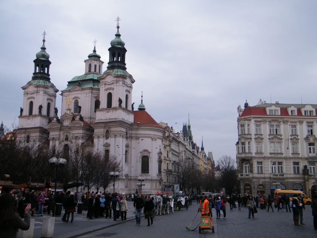 praça cidade antiga praga