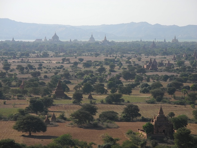 Bagan do alto, Mianmar