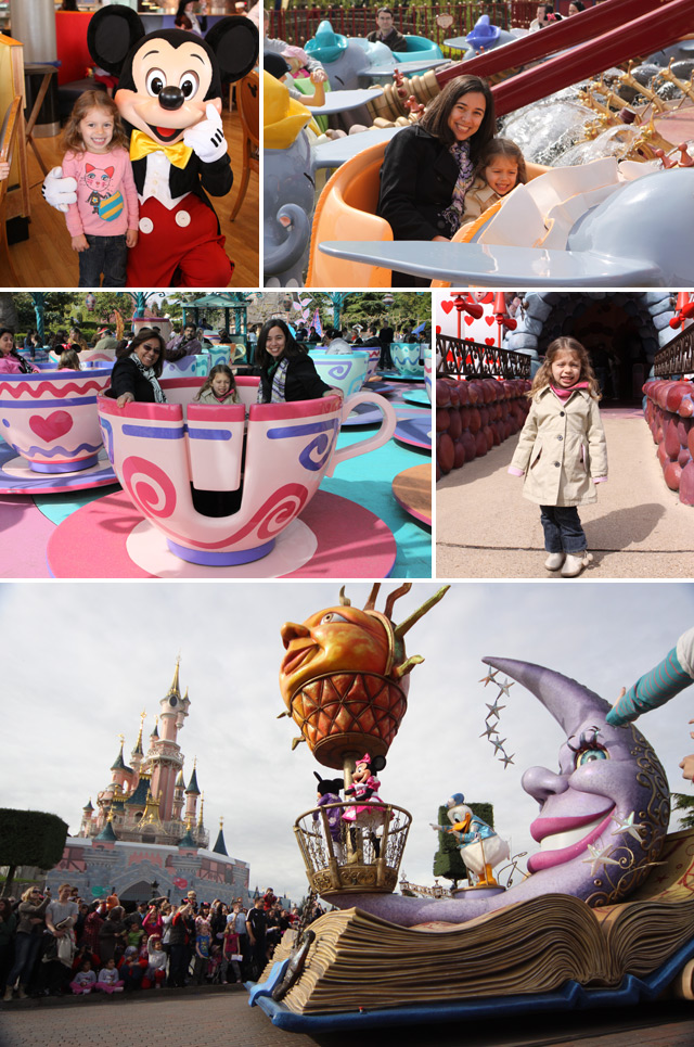 Curtindo a Disney Paris, que na verdade fica em Marne la Vallée, fora de Paris