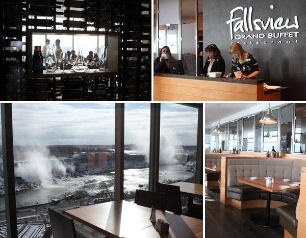 Restaurante Fallsview no Sheraton on the Falls
