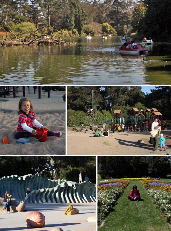 O Golden Gate Park em San Francisco tem várias atrações para famílias