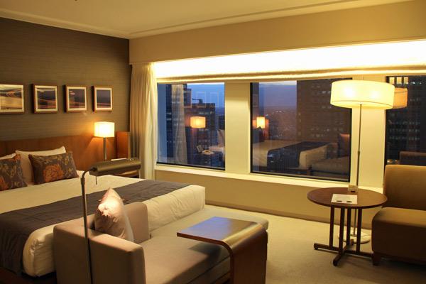 Hotel Keio Plaza, foto: Anna Bárbara Fernandes