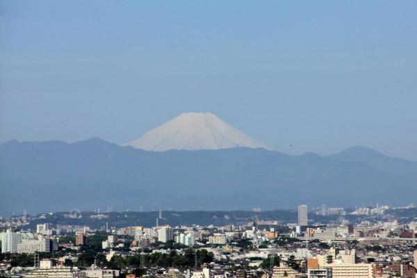 Vista do quarto do Hyatt Regency Tokyo em Shinjuku, foto: Mirella Matthiesen