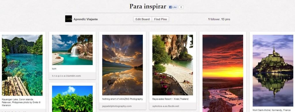 Muita inspiração nos nossos boards do Pinterest