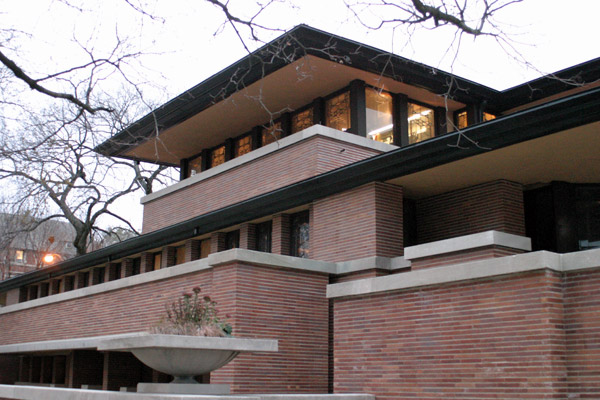 Robie House, uma das casas de Frank Lloyd Wright em Chicago