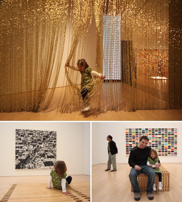Julia aproveitando o SFMOMA, Museu de Arte Moderna de San Francisco