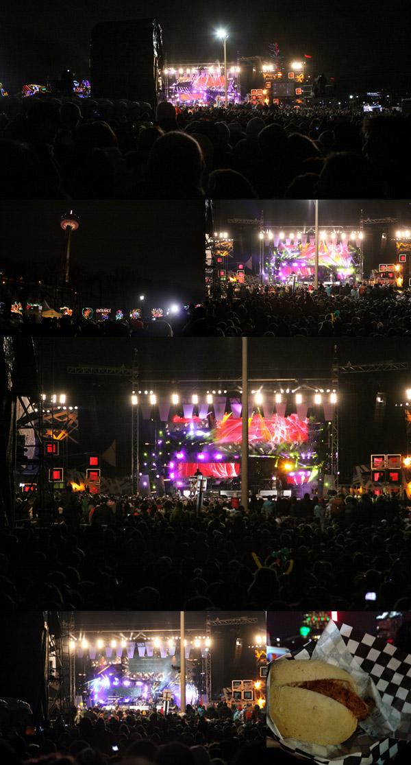 Shows de Ano Novo em Niagara Falls, Canadá: Hedley e Nelly Furtado