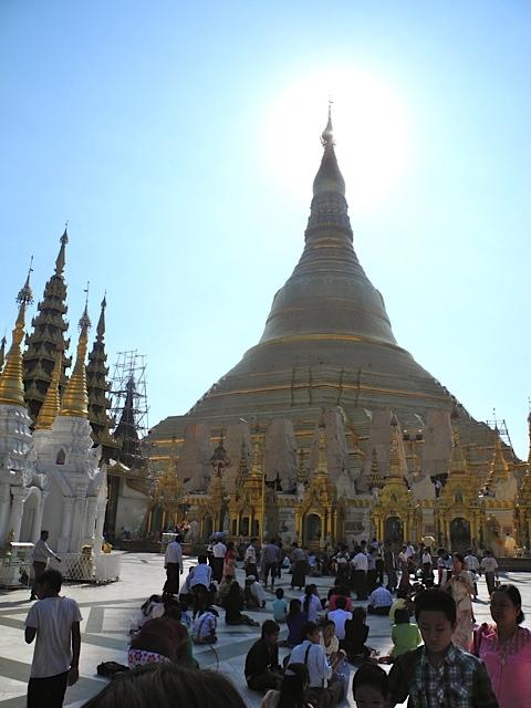 Shwedagon Pagoda, Mianmar