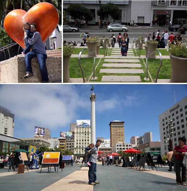 Union Square e seus artistas