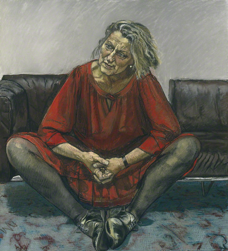 NPG 6351; Germaine Greer by Paula Rego
