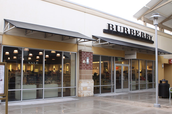 Burberry no Houston Premium Outlets