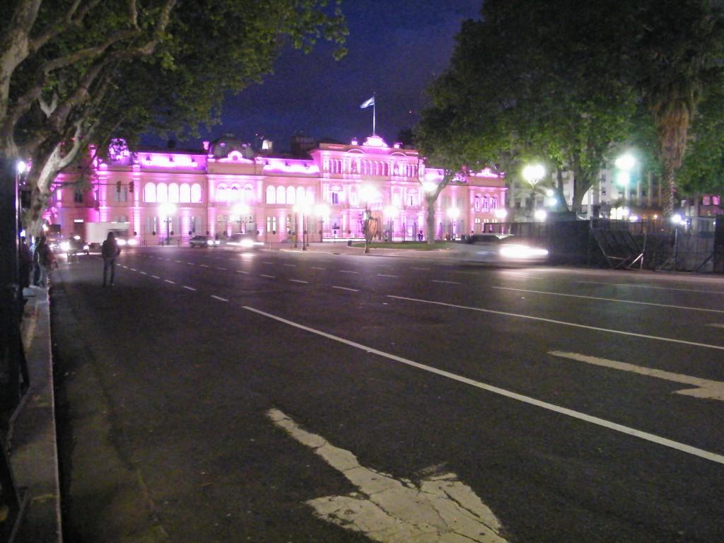 Casa Rosada, Microcentro