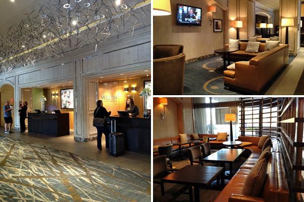Lobby do hotel Westin Oaks Houston at the Galleria