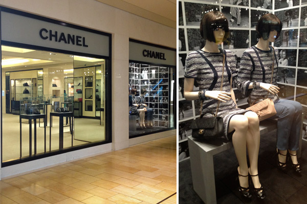 Loja Chanel no Houston Galleria