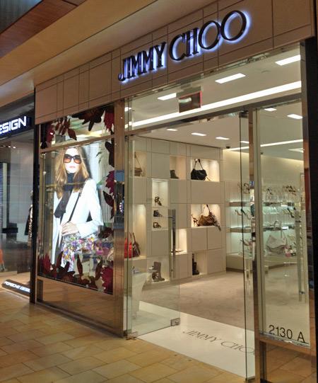 Loja Jimmy Choo no Galleria em Houston