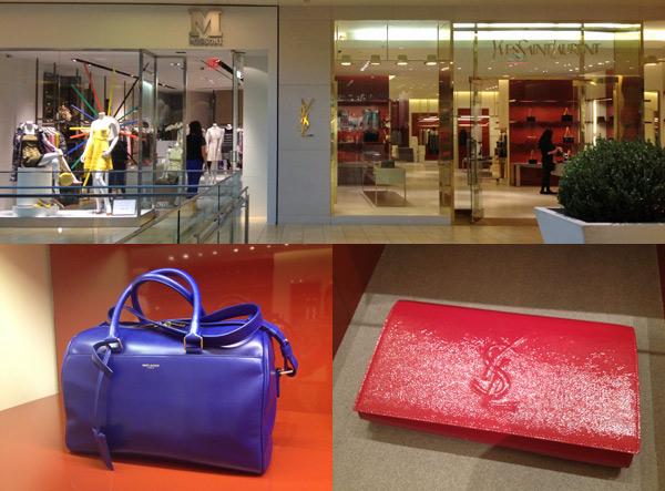 Lojas Missoni e Yves Saint Laurent no Galleria em Houston