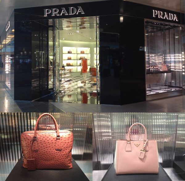 Prada (enorme!) no Galleria em Houston