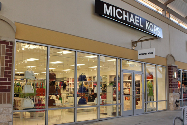 Michael Kors no Houston Premium Outlets